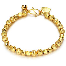 """Unisex Mens Women's 18K Gold Filled Bracelet 7"""" G10"""