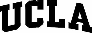"""UCLA Decal """"Sticker"""" for Car or Truck or Laptop"""