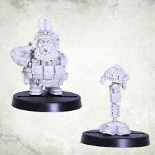 Dvergr Commando Minute Fall of Silence Squat Space Dwarf Dwarves Kromlech Resin
