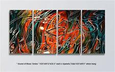 Large Original Metal Wall Art Modern Abstract Indoor Outdoor Decor Direct Artist