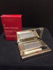 Clarins Ombre Minerale Wet&Dry Mineral Eyeshadow 14 Platinum .07 Oz Nib