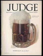 Hi-Grade Scarce Judge Magazine Complete Enoch Bolles Repeal Prohibition Cover