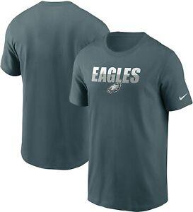 Philadelphia Eagles Nike Youth Boys Split Logo T-Shirt - Marine Green