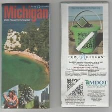 2012 OFFICIAL MICHIGAN ROAD MAP ~ New