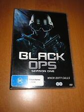 BLACK OPS - SEASON 1 - [ 2 DISC ] SET DVD REGION 4 ( EXCELLENT )