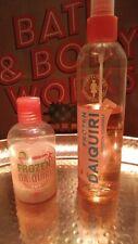 Bath & Body Works Temptations Frozen Daiquiri mist 3 in 1 shampoo wash bubble
