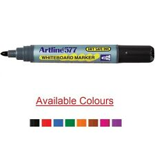 1 x Artline 577 Whiteboard Marker Assorted Colour Bullet 2.0mm