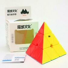 MoYu Magnetic Pyraminx Stickerless Speed Cube Pyramid Puzzle Toy Ship from USA