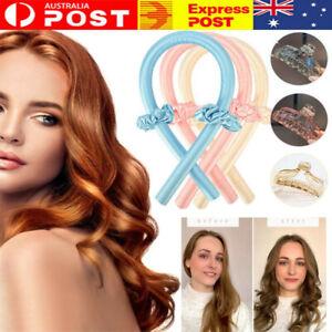Silk Ribbon Hair Curlers Heatless Curling Rod Sleeping Soft Headband Wave Former