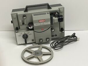 EUMIG Mark S712D Vintage Sound/Film Movie Projector Works