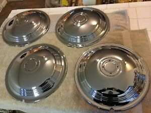 1939-40 LaSalle Hubcaps (Perfect set of 4)     FALL SPECIAL