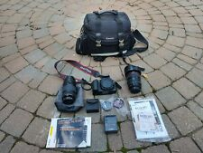 Canon Camera ,Two Lens and accessories Bundled Package