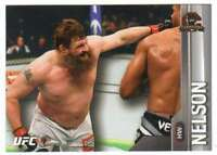 2015 Topps UFC Champions Silver #192 Roy Nelson
