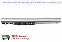 Genuine Battery for HP Pavilion 14 15 TouchSmart 248 340 350 LA04 HSTNN-Y5BV