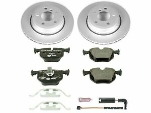For 2004-2010 BMW X3 Brake Pad and Rotor Kit Rear Power Stop 32821ZZ 2007 2005