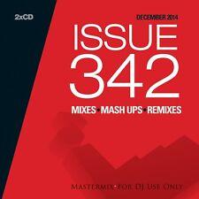 Mastermix Issue 342 Twin DJ CD Set Mixes Remixes Inc New Year Hootenanny Mix