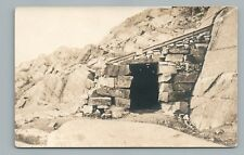 Rain Shelter—Mt. Monadnock RPPC Antique—Jaffrey New Hampshire Photo AZO 1910s