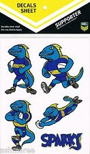 NRL Parramatta Eels Mascot Sparky Car Tattoo Sticker / iTag / Decal