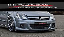 Cup alerón labio para Opel Astra H OPC line 2 año 05-10 Front alerón enfoque en