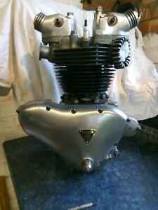 Triumph Pre-Unit 650cc engine.