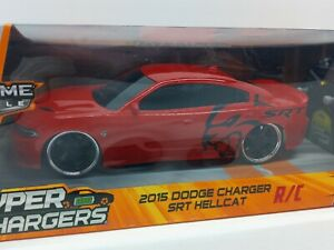 Jada R/C Bigtime Muscle 2015 Dodge Charger SRT Hellcat Hyper Chargers Turbo