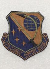 Usaf Air Force Patch: 27th Combat Support Group - subdued