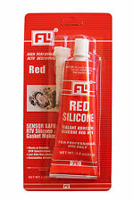 RTV RED Silicone Gasket Hi-Temp Sealant Maker 3.0 OZ. ( 85g ) Tube