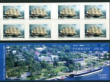 Below face D12 Aland 2003 MNH Booklet SA Sailing Ship POMMERN 100 yrs