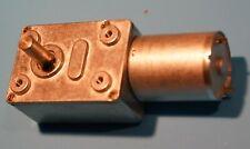 Dc 12v Reduction Motor Worm Reversible High Torque Turbo Geared Motors 5rpm
