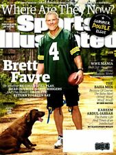 "Brett Favre Signed Green Bay Packers Sports Illustrated ""Where Are They Now?"""