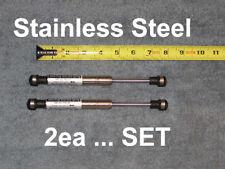 "2ea Stainless 7.5"" 10# RV Camper Trailer Marine Gas Strut Shock Spring Lift Ram"