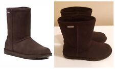 EMU Paterson Lo Chocolate Suede Waterproof Mid Calf boots US 6 UK 4 Euro 37