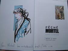 BEHE / PECHE MORTEL 4  / VENTS D OUEST /  EO  +  DEDICACE