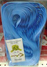 COCCARDA SVELTOSTRIP FIOCCO AUTOTIRANTE 30Pz. 3 cm. AZZURRO DECORAZIONE