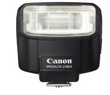 Canon Speedlite 270EX Shoe Mount Flash NIB Great Compact Unit f Rebel Series SLR