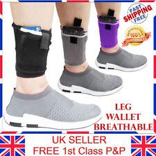 LTG PRO Concealed Ankle Leg Mesh Wallet Travel Pouch Passport Mobile Purse Bag