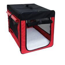Hundebox faltbare Transporttasche Hund Katze Transportbox Grö�Ÿe S Rot neu