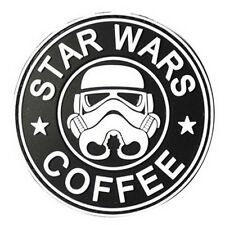 Cartoon STAR WARS COFFEE TACTICAL ARMY MORALE AIRSOFT 3D PVC RUBBER PATCH
