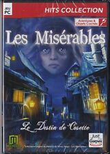 JEU PC LES MISERABLES LE DESTIN DE COSETTE AVENTURES OBJETS CACHES WINDOWS 7 8