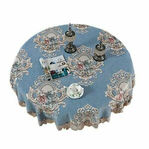 Chair Cover Lace Embroidery European Dining Chair Cushion for Living Room