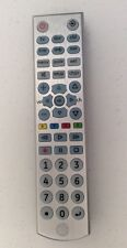 GE 33712 6 Device Brushed Silver Universal Remote For Roku Apple TV Amazon