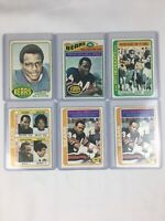 1976 1977 1978 Topps Walter Payton Rookie Card!! #148 #360 #3 #504 #200 Lot Of 6