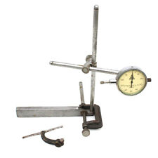 Vintage George Scherr Dial Indicator Machinist With Accessories Tools
