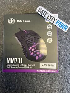 Cooler Master MM711 (MM711KKOL1) Wired Gaming Mouse *Matte Finish*