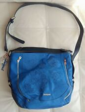 New Desigual Large Morteta Blue Handbag