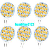 6pcs LED G4 3w Lamp AC DC 12V 5730 Corn Bulb Lamps Replace Halogen Light 3000K