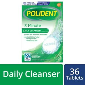 POLIDENT Cleanser Tablets 36's