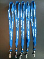 SET OF 5 Lanyards Keychain/Badge/ID Holder Free Shipping !