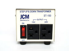 JCM ST-100W Watt 110V to 220V Step Up/Down Transformer Voltage Converter