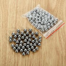 100pcs Outdoor Sling Shot Carbon Steel Balls Pocket Slingshot Ball Bearings 8mm